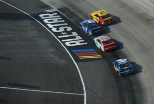 NASCAR's best compete in the opening laps of the 2020 All-Star Open at Bristol Motor Speedway.