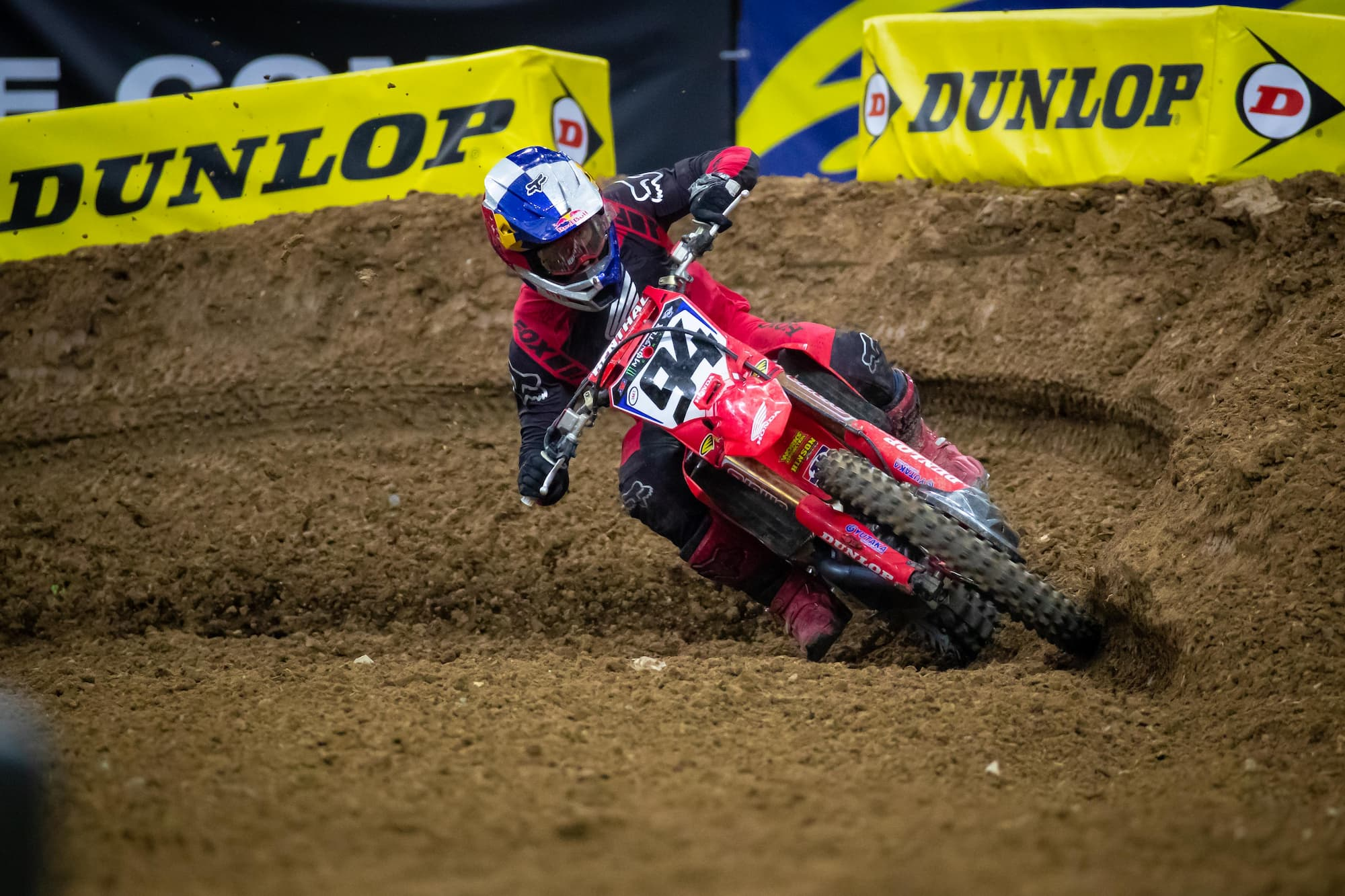Ken Roczen is penalized at Houston 2 for violating the medical flag.