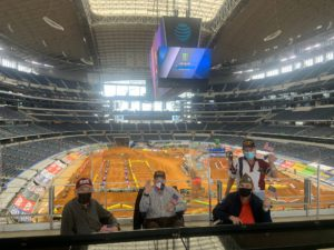 """100-Year Old World War II Veteran Visits Supercross as First """"Out of House"""" Adventure in a Year"""