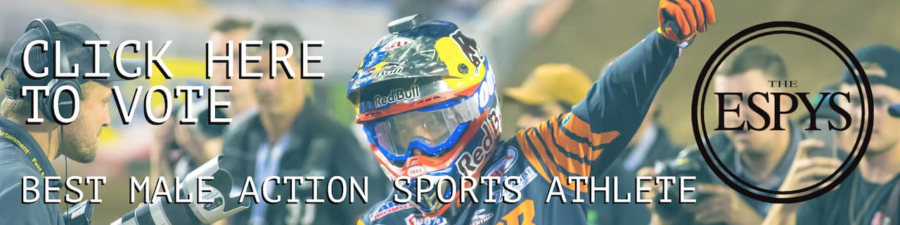 Vote for the 2021 ESPY Awards in the Best Male Action Sports Athlete category.