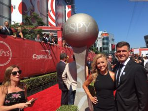 Ryan Dungey at the 2016 ESPY Award banquet to accept his second ESPY. Photo by Feld Entertainment, Inc.