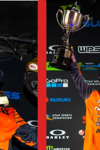 Cooper Webb is a two-time Supercross champion, and is now nominated for the 2021 ESPY Award for Best Male Action Sports Athlete category.