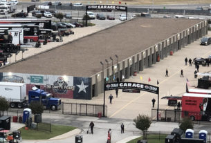 No injuries in explosion at Texas Motor Speedway. Photo by Jerry Jordan/Kickin' the Tires
